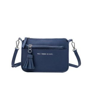 """✨3 for $20 sale✨ """"All I Need is Wifi"""" Crossbody"""